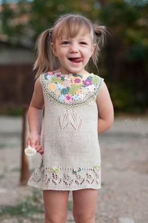 Детское вязанное платье куплю