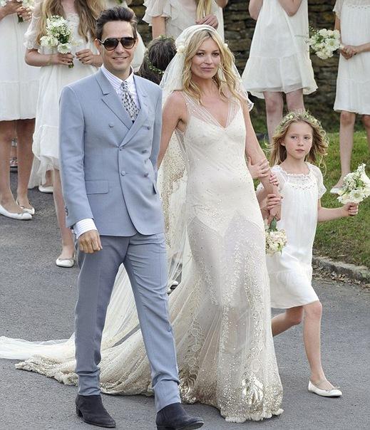 Свадебное платье для кейт мосс